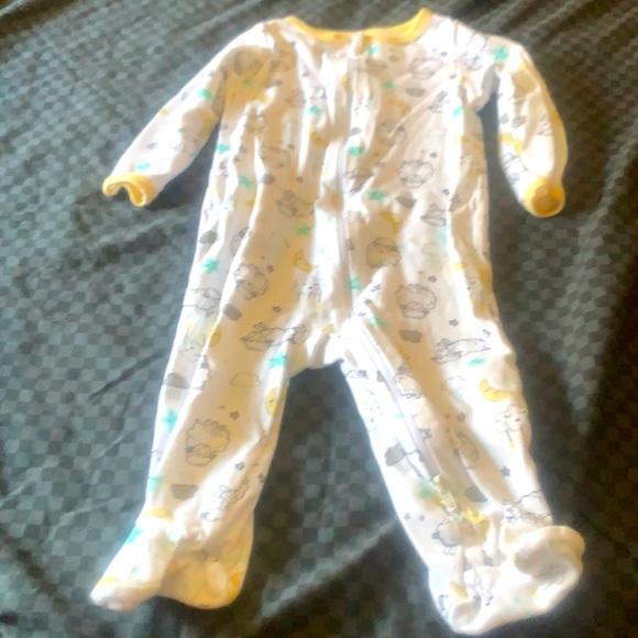 Feety Pajamas Size 6-9 Months
